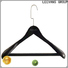 Wholesale brown wooden hangers wood Supply for trouser