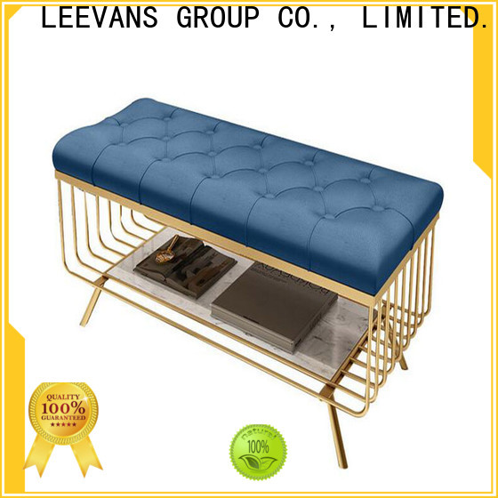 LEEVANS Latest clothing shop seating Supply