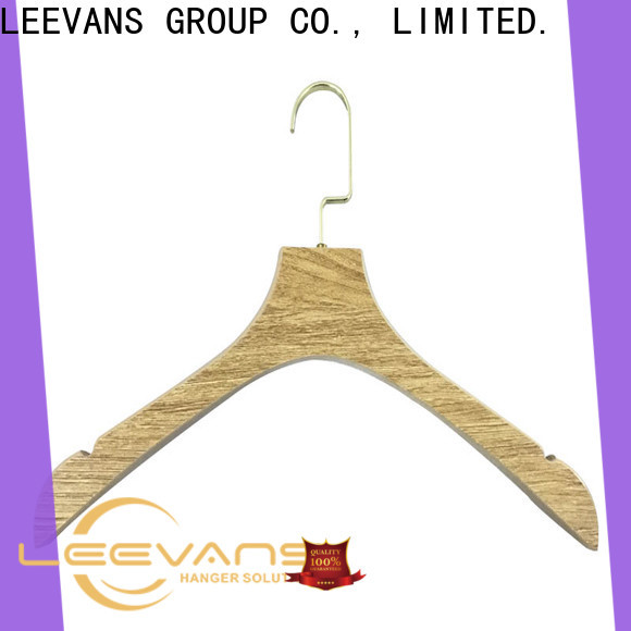 LEEVANS home white wood hangers bulk manufacturers for kids