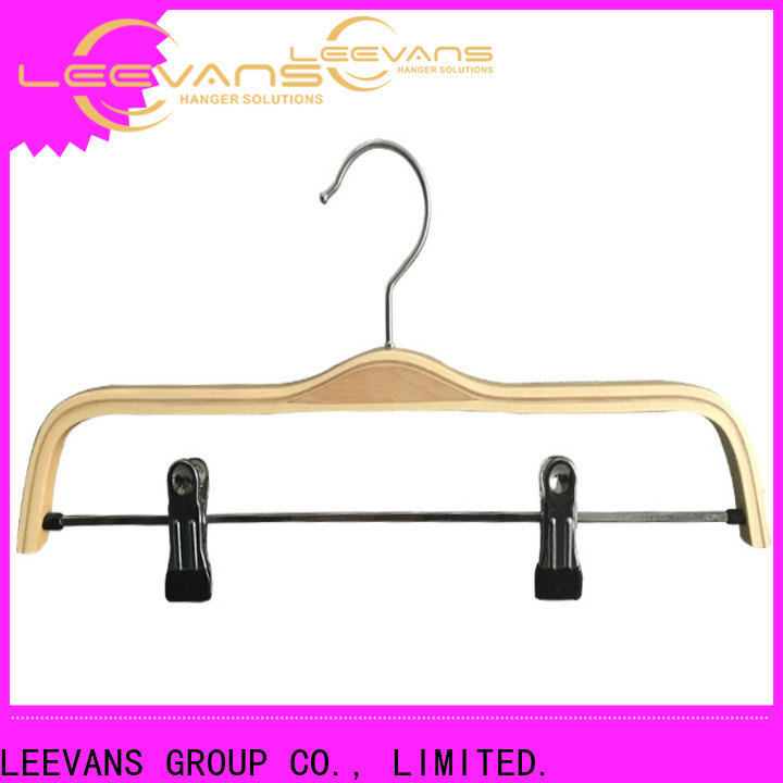 New high quality wooden hangers coat Supply for skirt