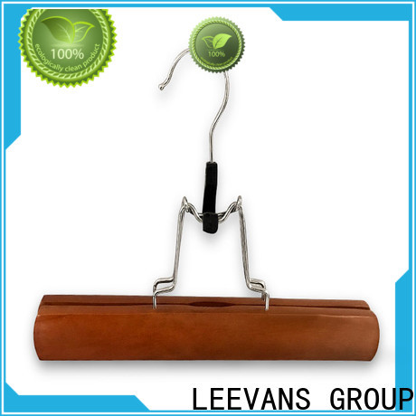 LEEVANS natural quality coat hangers for business for pants