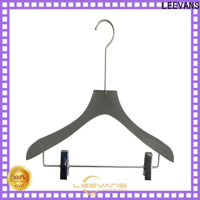 LEEVANS Custom padded hangers factory for pant