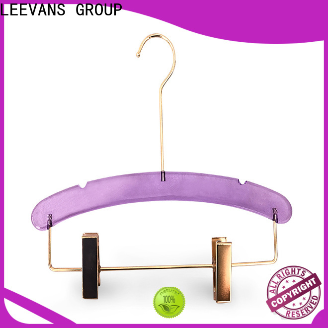 LEEVANS clothes personalized hangers manufacturers for jackets