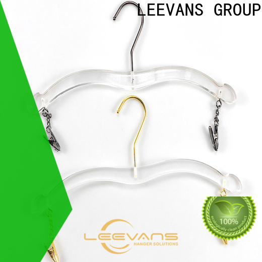 LEEVANS space acrylic coat hangers Suppliers for trusses