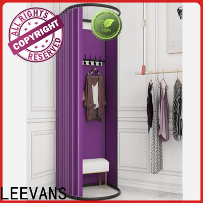 LEEVANS clothing store dressing room company