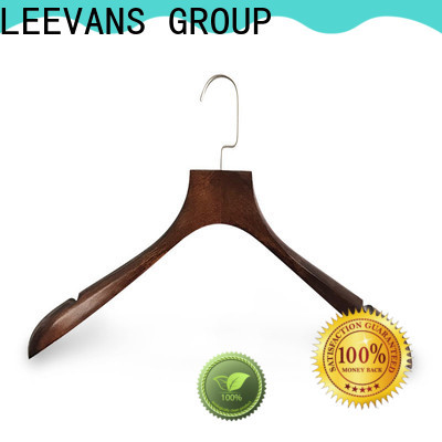 Latest black coat hangers exported company for trouser