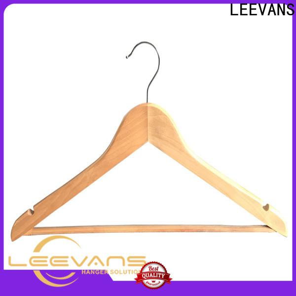 LEEVANS Wholesale childrens wooden hangers manufacturers for children