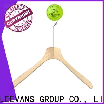 LEEVANS Latest wooden coat hangers wholesale Suppliers for skirt