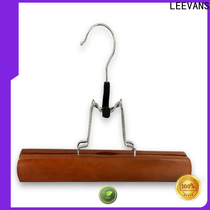 Top quality wooden hangers non Supply for trouser