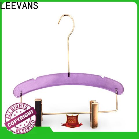 LEEVANS Custom travel hangers Suppliers for pant