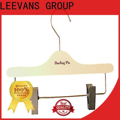 LEEVANS New where to buy wooden coat hangers factory for children