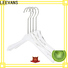 Wholesale padded hangers perspex Supply for sweaters