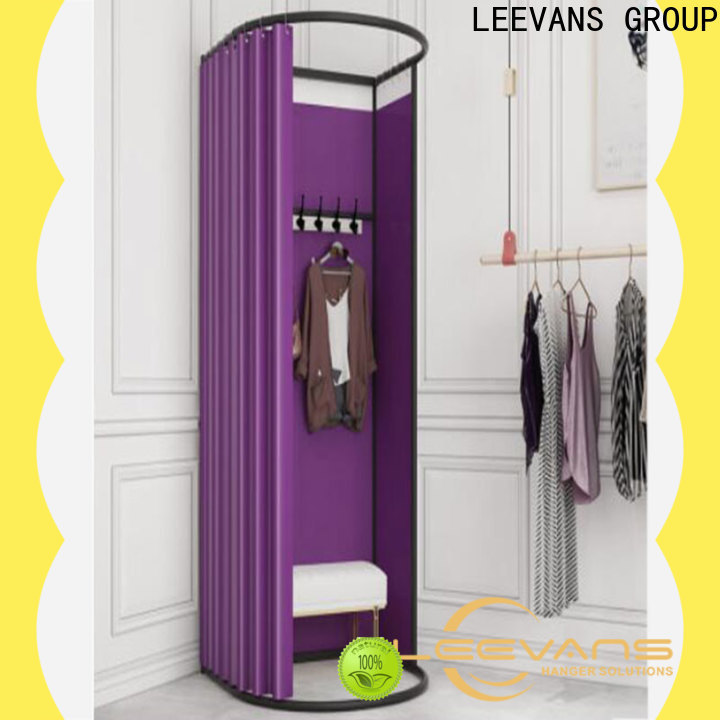 LEEVANS High-quality clothing store dressing room manufacturers