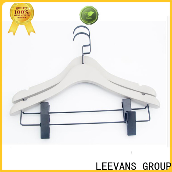 LEEVANS laminate wooden hangers manufacturers for children