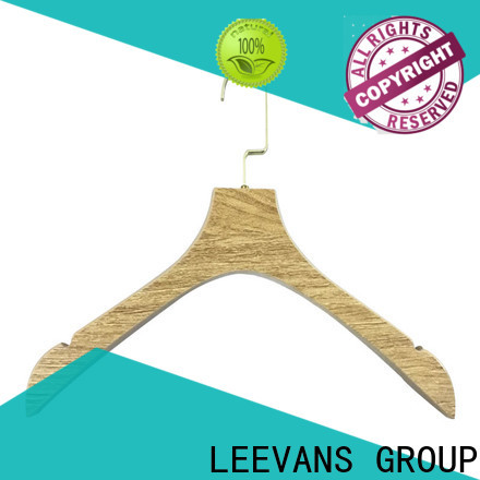 High-quality buy wooden clothes hangers round Supply for trouser