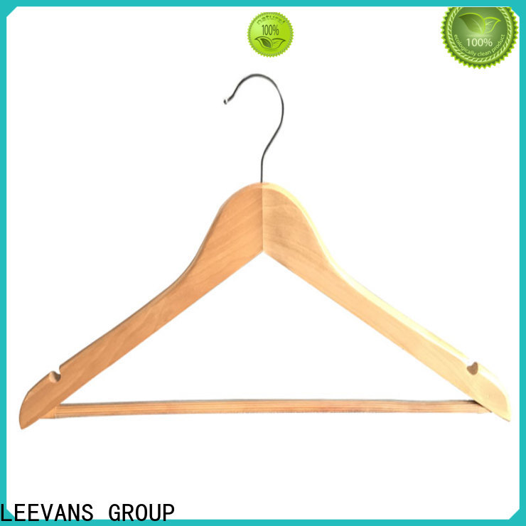 LEEVANS Wholesale white hangers company for clothes