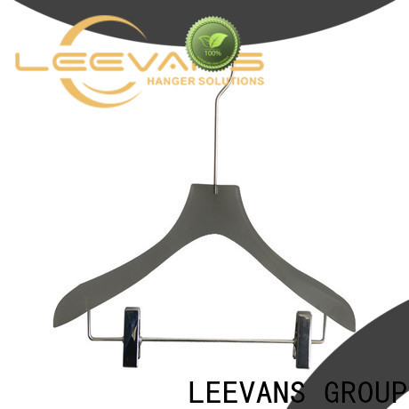 LEEVANS coat brown hangers factory for trusses