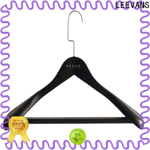 LEEVANS coat men's clothes hangers manufacturers for skirt