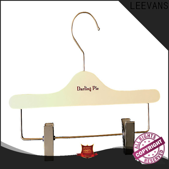 LEEVANS Best small wooden coat hangers for business for clothes