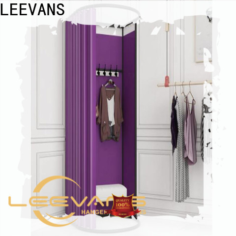LEEVANS clothing store dressing room for business