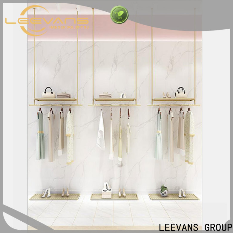 LEEVANS clothes display stand for business