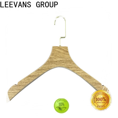 Latest cheap white wooden hangers hotel factory for pants