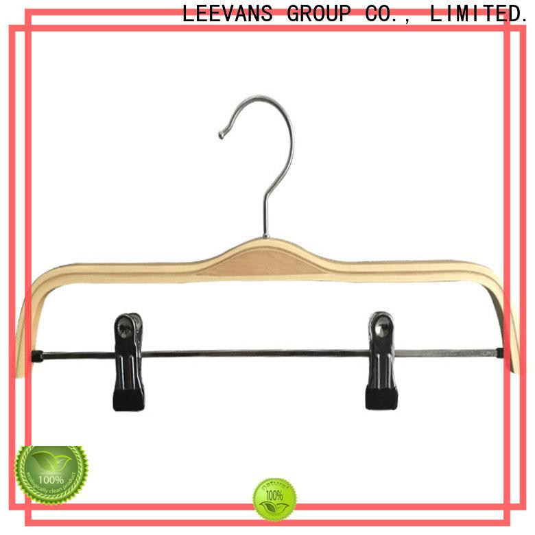 New cheap wooden coat hangers sale Supply for skirt