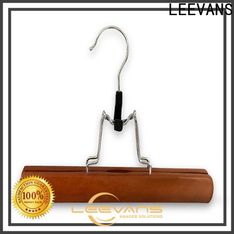 LEEVANS New mens suit hangers company for trouser