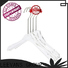 Top clothes hanger clips plexiglas for business for pant