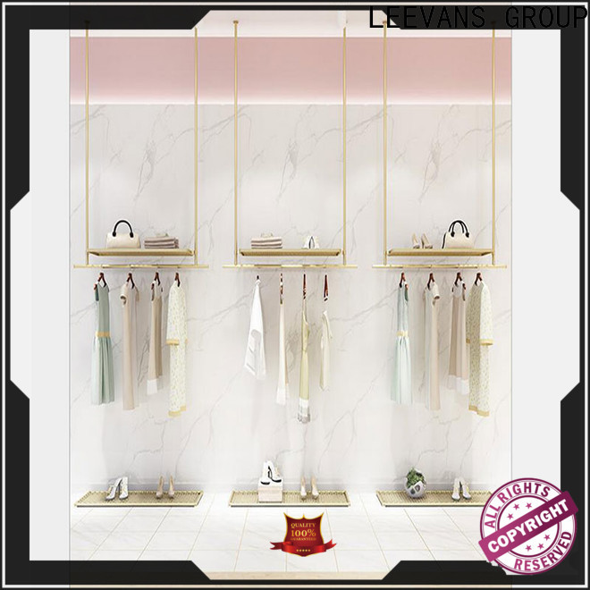 LEEVANS High-quality clothes display stand manufacturers