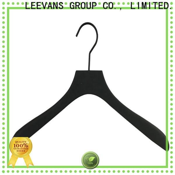 LEEVANS New wooden skirt hangers for business for children