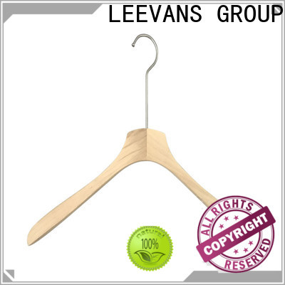 LEEVANS Wholesale wood slack hangers manufacturers for children