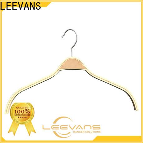 Custom wide coat hangers clamp Supply for children