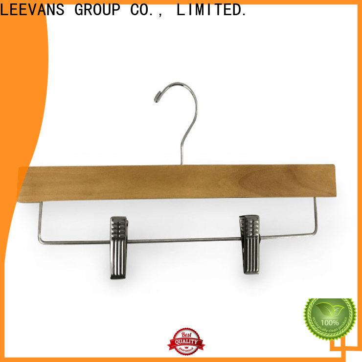 LEEVANS antirust wooden dress hangers company for pants