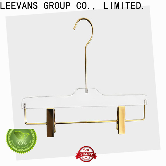 LEEVANS clips custom made hangers Supply for T-shirts
