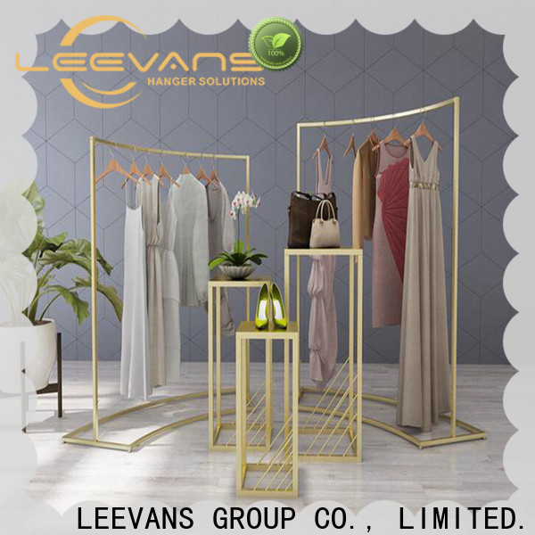 LEEVANS Latest clothes display stand Supply