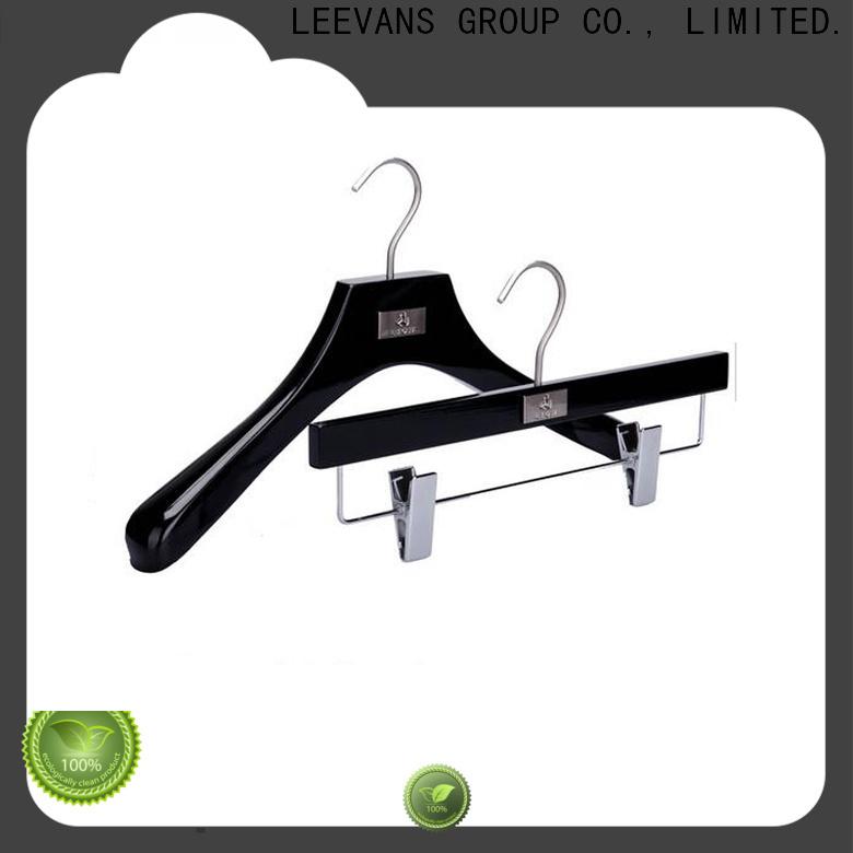 LEEVANS Top white wooden pant hangers factory for skirt