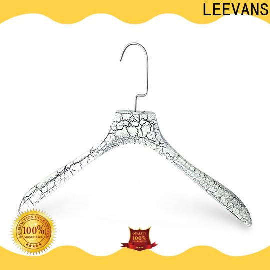 LEEVANS Best small wooden coat hangers manufacturers for pants