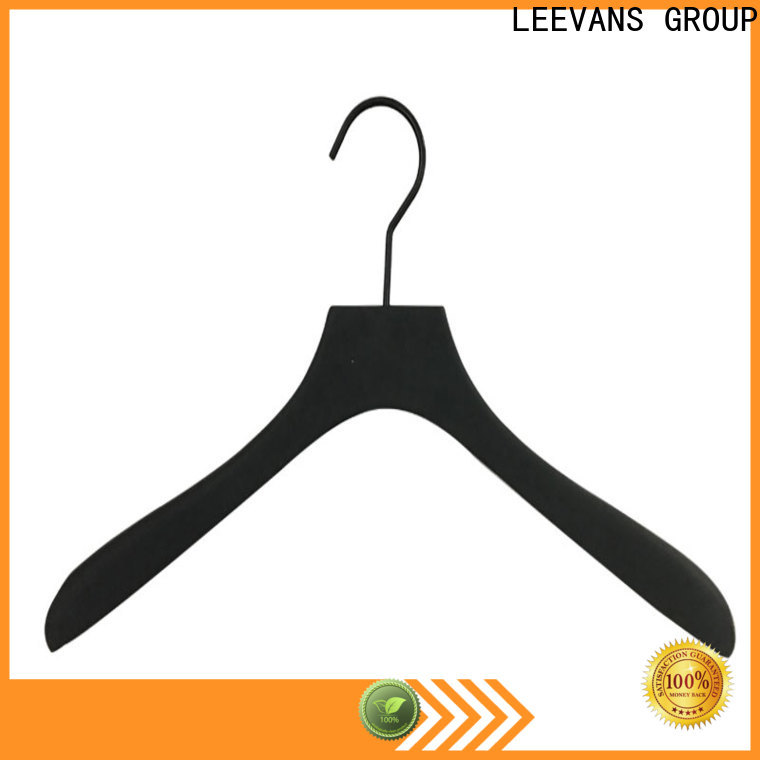 LEEVANS Custom beautiful clothes hangers factory for skirt