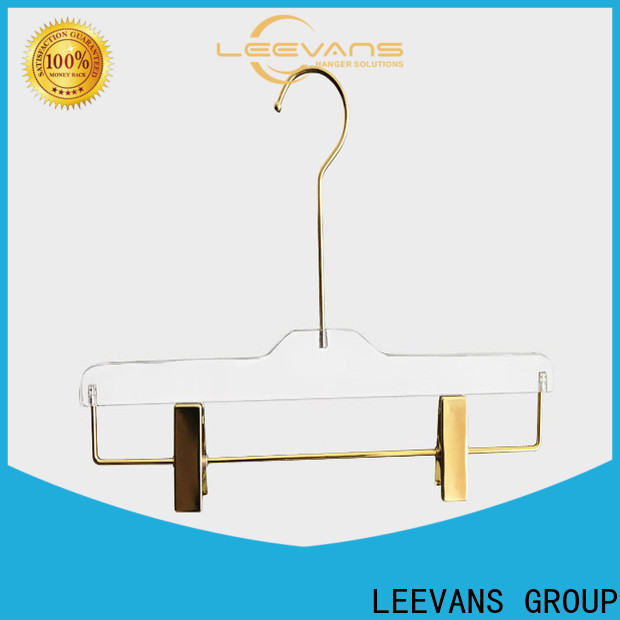 LEEVANS Custom hangers for sale Suppliers for T-shirts