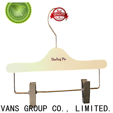 High-quality wooden hangers bar Supply for pants