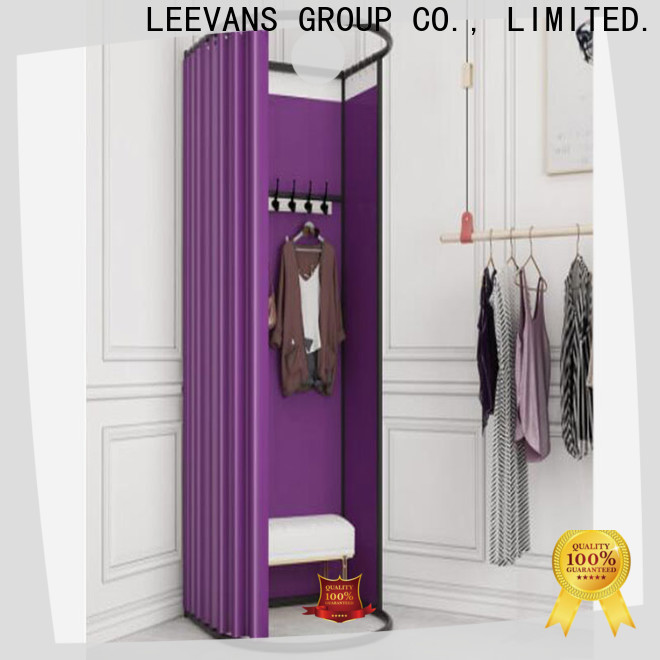 LEEVANS clothing store dressing room factory