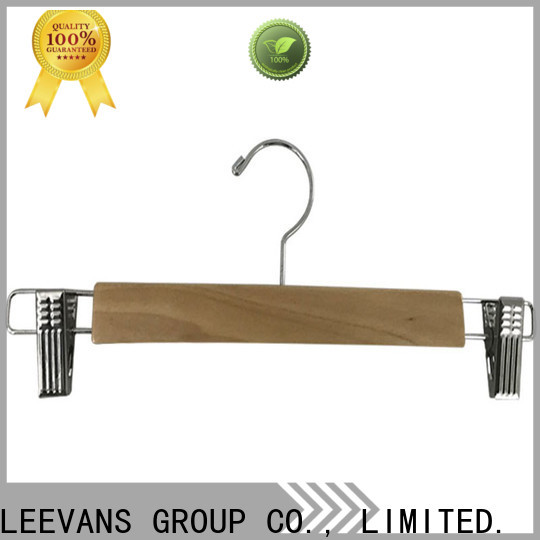 LEEVANS Latest hangers with clips for pants manufacturers for trouser