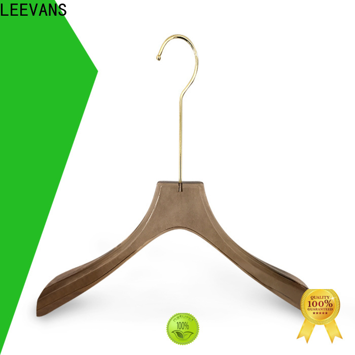 LEEVANS High-quality acrylic clothes hangers for business for suits