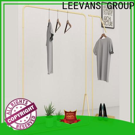 LEEVANS Latest clothes display stand company