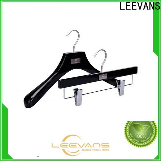Latest wood slack hangers hangers Supply for children