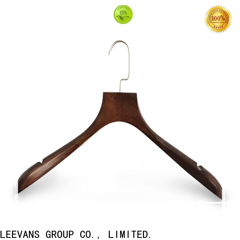 LEEVANS Custom where to buy suit hangers Supply for clothes