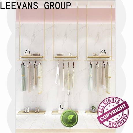 LEEVANS Wholesale clothes display stand factory