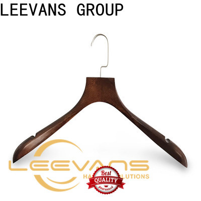 LEEVANS design non slip wooden hangers Suppliers for kids