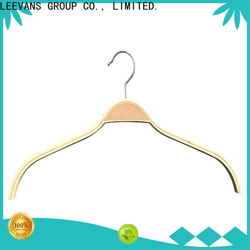 LEEVANS Custom where can i buy wooden hangers company for pants
